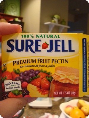 Sure Jell for jam